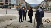Belediye Meydan Projesine Başladı