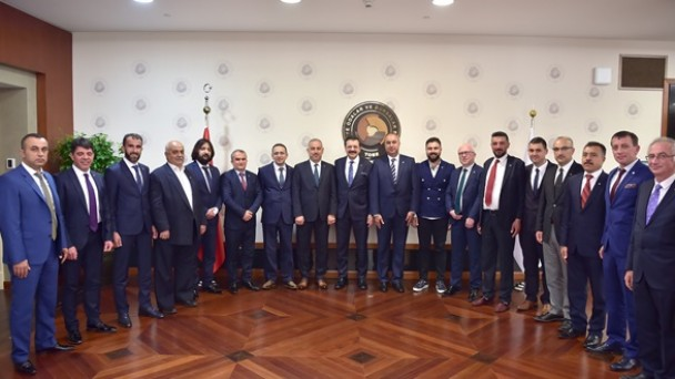 Hisarcıklıoğlu'na Ziyaret