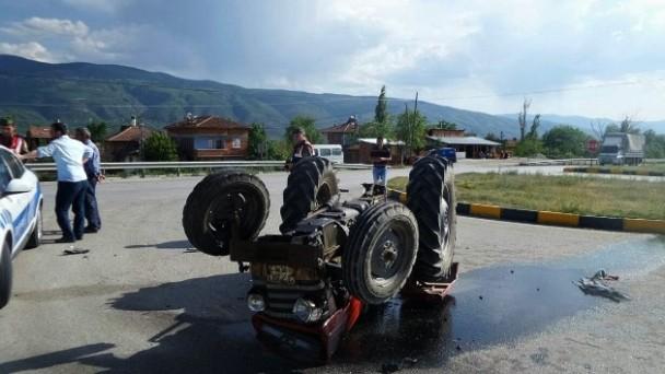 Tosya'da trafik kazası: 1 yaralı