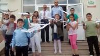 Tosya İlkokulu'nda Model Uçak Kursu Sertifikaları Verildi
