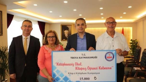 Yazar Filiz Tosyalı'dan Kitap Kampanyasına Destek
