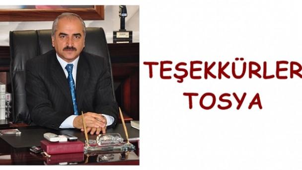 TEŞEKKÜRLER TOSYA
