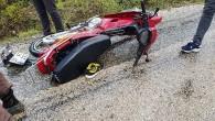 Tosya'da otomobil ile motosiklet çarpıştı: 2 yaralı