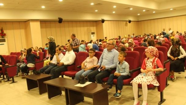 Yaz Kur'an Kursları İçin Tören Düzenledi