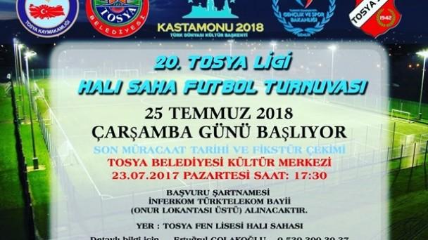 20. Halısaha Futbol Turnuvası Başlıyor..