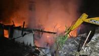 Çepi Köyü'nde Yangın