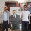 Ali Özciğeli'den Başkan Şahin'e Anlamlı Hediye