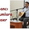 Şair Mehmet AKSU dan Yabancı Mahkumlara Konser
