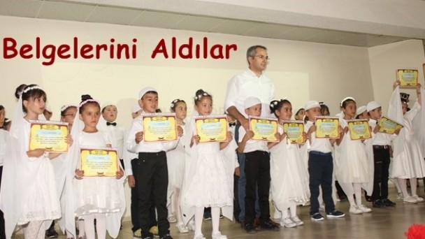 Halk Eğitimde Belge Töreni