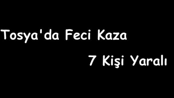 Tosya'da Kaza, 7 Yaralı