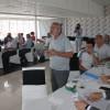 Vali Yaşar Karadeniz Başkanlığında  Ahşap Fuarı Toplantısı Tosya da Yapıldı