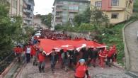 Atatürk ve İstiklal Yolu yürüyüşü İnebolu'dan başladı