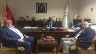 Başkan Arslan, Milli Eğitim Bakan Yardımcısı Safran'ı ziyaret etti