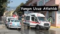 Tosya'da Yangın Ucuz Atlatıldı