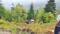 Yoldan çıkan otomobil şarampole yuvarlandı: 4 Yaralı