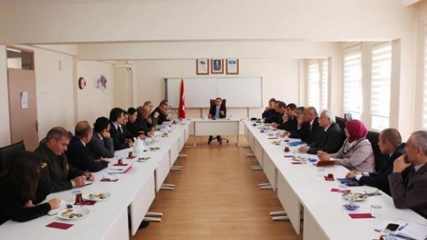 İlçe İdare Şube Başkanları Toplantısı Yapıldı