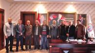 Başkan Kazım Şahin'e Ziyaret