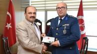 Hava Radar Kıta Komutanı Rektör Aydın'ı Ziyaret Etti