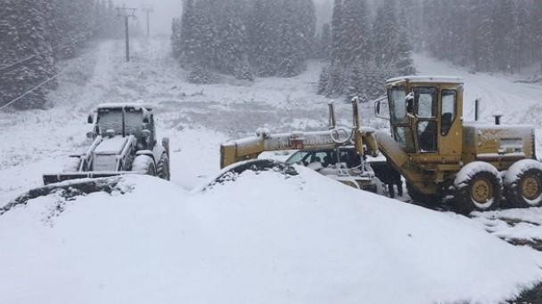 Kastamonu'ya mevsimin ilk karı yağdı