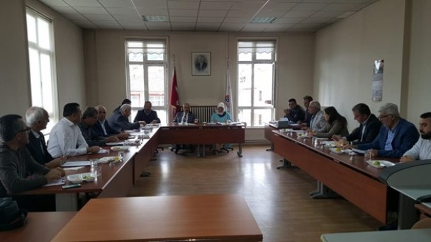 Meclis Ekim Ayı Toplantısını Yaptı
