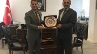 Rektör Aydın, ÖSYM Başkanı'nı Ziyaret Etti