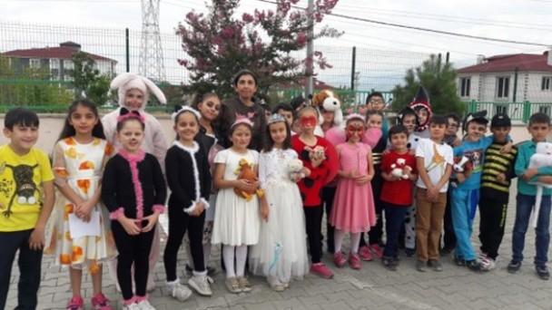 Tosya İlkokulunda  4 Ekim Hayvanları Koruma Günü Kutlandı