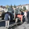 Tosya Cumhuriyet Meydanında Traktör Kazası
