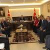 Tosya-Der'in Yeni Yönetimi Kaymakam Deniz Pişkin'i Ziyaret Etti