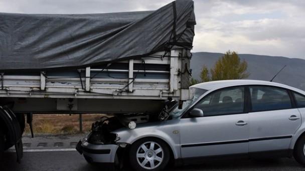 Tosya'da Zincirleme Kaza; 6 Yaralı