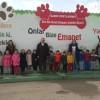 Anasınıfı öğrencileri geçici hayvan bakımevini ziyaret etti