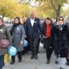 Başkan Babaş, 14 Kasım Dünya Diyabet Günü yürüşüne katıldı