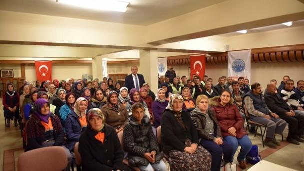 Başkan Hüseyin Arslan, TYP'de çalışanlara teşekkür etti