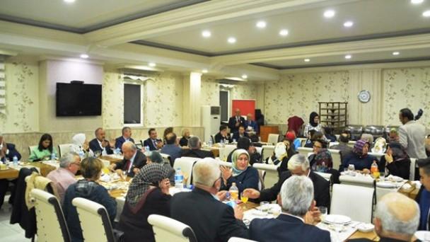 Belediye Başkanı Tahsin Babaş Şehit Aileleri ve Gazi Yakınları ile bir araya geldi