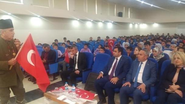 Daday'da öğrencilere Çanakkale Zaferi ve Atatürk anlatıldı