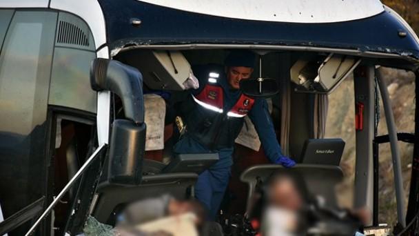 Feci kazada askerler uykuda yakalanmış