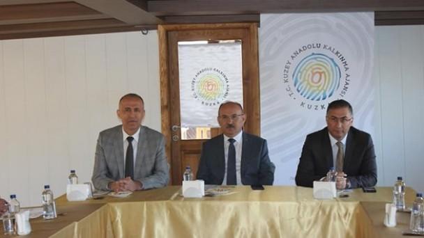 KATSO Başkanı Fındıkoğlu, KUZKA Yönetim Kurulu toplantısına katıldı