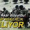 """Milli Savunma Bakanı Hulusi Akar: """"2-3 ay içinde tek tip askerlik gelecek"""""""