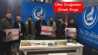 """Ülkü Ocakları Tosya İlçe Başkanlığı """"Askıda Ekmek Projesi"""""""