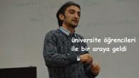 Gazeteci Kazım Bolat, üniversite öğrencileri ile bir araya geldi