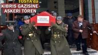 Kıbrıs Gazisi için Askeri Tören Düzenlendi