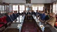 MHP İl Başkanı Aydın, kurum ziyaretlerini sürdürüyor