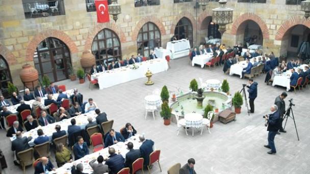 MHP Kastamonu İl Teşkilatı, KAMU-SEN Üyeleri ile bir araya geldi