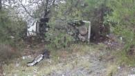 Otomobil, uçuruma yuvarlandı 3 Yaralı