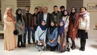 Rektör Aydın YÖK Bursu ile Üniversiteye Gelen Talebelerle Bir Araya Geldi