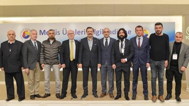 Tosya TSO Meclis Üyeleri TOBB Seminerinde