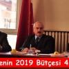 Yılın Son Toplantısında Bütçe Açıklandı