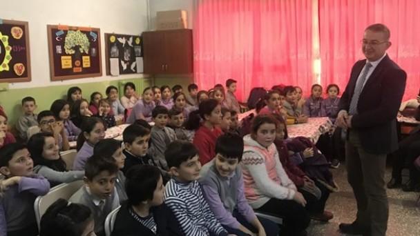 Fevzipaşa İlkokulu'nda Velilere Sağlıklı Yaşam Semineri