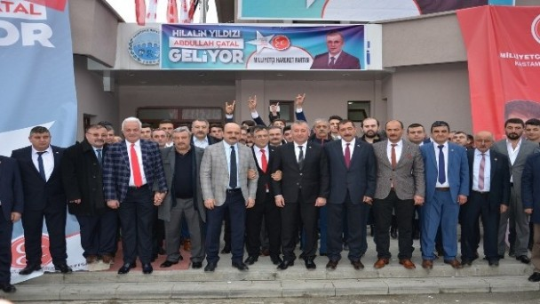 MHP, Taşköprü Belediye başkan adayını tanıttı