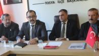 MHP Tosya Belediye Başkan Adayı Volkan Kavaklıgil'den Basın Açıklaması