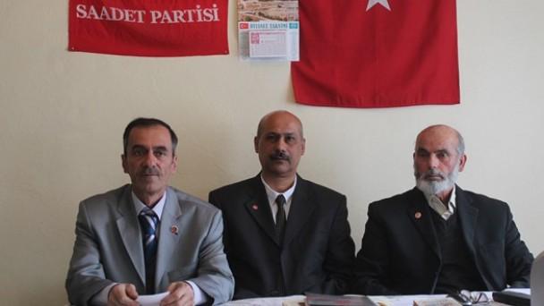 Saadet Partisi Adayını Tanıttı